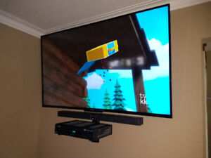 Tv wall mounting +  New tilt mount PRO INSTALL