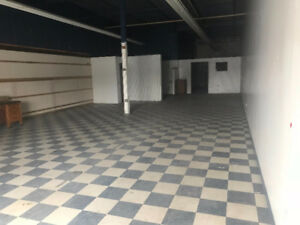 2000 sqft Industrial space Warehouse/Shop/Storage for Lease/Rent