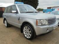 2006 06 LAND ROVER RANGE ROVER 2.9 TD6 HSE 5D AUTO 175 BHP: FULL CHROME PACK:GRE