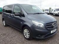 2016 Mercedes-Benz Vito 116 BLUETEC COMPACT Diesel grey Manual