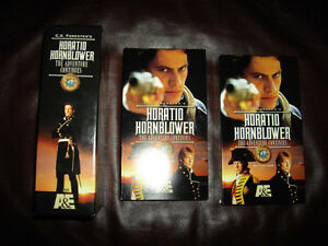 Horatio Hornblower all 8 films on 8 VHS tapes for Canada/US VCRs Windsor Region Ontario image 2