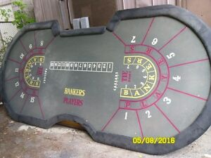Roulette wheels and tables and other casino tables Stratford Kitchener Area image 6
