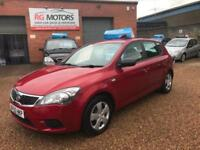 2010(60) Kia ceed 1. 1.6 TD CRDI ( 114bhp ) Red 5dr Hatch, **ANY PX WELCOME**