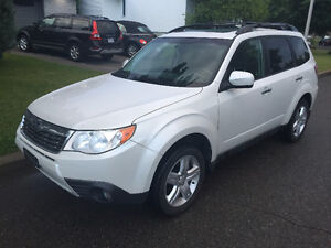 2010 Subaru Forester Limited VUS Cuir toit ouvrant
