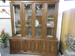 Large Curved Cabinet