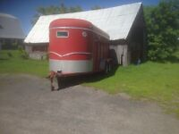 Horse trailer for sale.