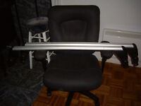 vw volks thule  barres toit support bagage rack velo