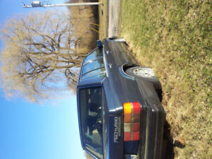 1987 Volvo 760 for  parts or restoration