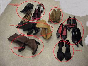 Divers souliers et bottes gr 7-10