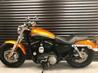 15 MY Harley-Davidson XL 1200 Sportster CA ABS + Keyless Ignition
