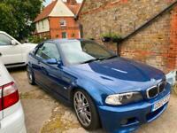 2002 BMW M3 3.2L E46 MANUAL ROADSTER WARRANTIED LOW MILEAGE FSH