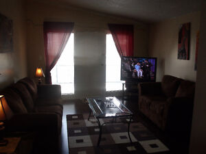 WOW--furnished 1 bedrm apt includes util, cable, internet