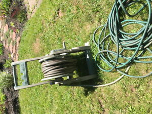 Hose cart and hoses