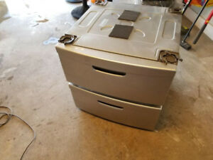 Kenmore washer & dryer  PEDESTALS