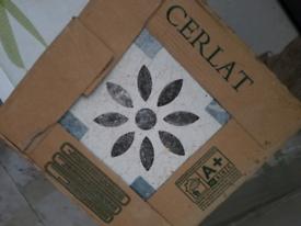 Ceramic tiles 5m2 Cerlat Mesina Azul