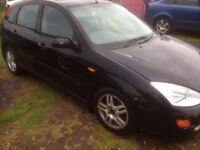 Ford Focus 1.8 petrol, breaking/spare parts