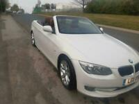 BMW 3SERIES 320d se 181 CONVERTIBLE HARD TOP 2011 119000 MLS PEARLESCENT WHITE