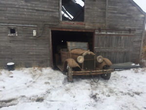Seeking new Home for two classic old cars 1925????