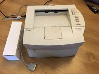 Kyocera mono laser printer (parallel only) inc new toner