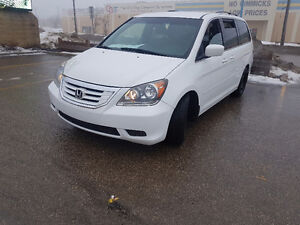 2008 Honda Odyssey DX, remote start, 128,000 km, $9,350 warranty