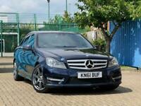 2011 Mercedes-Benz C Class C220 CDI BlueEFFICIENCY Sport Ed 125 4dr Auto SALOON