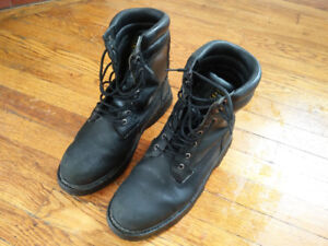 Size 12 Black Work Boots (Altra Industrial)
