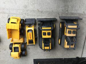 tonka trucks toys -set