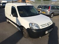 2008 CITROEN BERLINGO 1.6 HDI EURO 5 -SIDE LOADING DOOR-DECEMBER MOT TEST-CHEAP ROAD TAX