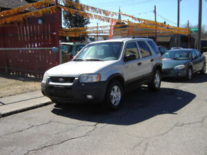 2002 Ford Escape Limited SUV 4x4