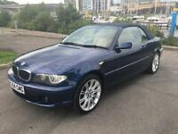 2004 BMW 3 SERIES 318CI SE CONVERTIBLE PETROL