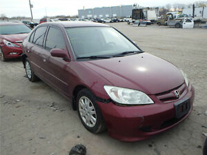 HONDA CIVIC 2001/2005 4 DOOR FOR PARTS PARTS ONLY)