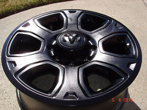 "2014 Dodge Ram 2500/3500 Alum. OEM 20"" x 8 bolt rims , no tires"