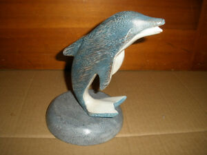 Wooden Dolphin Statue London Ontario image 1