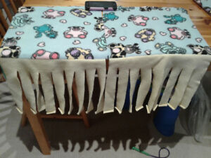 Used guinea pig fleece curtains