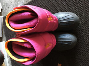 Polo girl winter boots shoes size 10