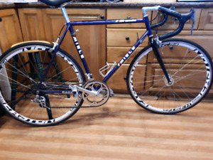 12speed miele road butted tubing 21 inch frame