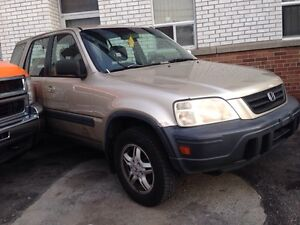 2001 Honda Civic 4x4 CR-V Certy E Test $ 1950