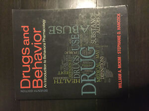 Drugs and Behaviour 7th Edition