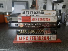 Alex fergusson set of books