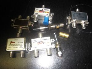 NEW PRICE ASSORTED CONNECTORS FOR TV/TELEPHONE