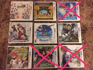 Nintendo 3DS games for sale Mint condition