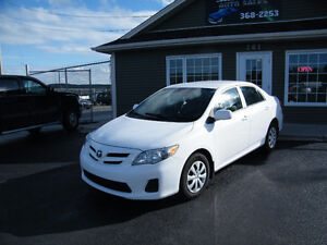 2011 Toyota Corolla 56,000 km LOADED AND INSPECTED