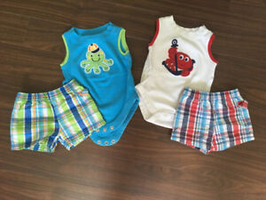 Lot of 60+ items / Size 0-3 months / Boys