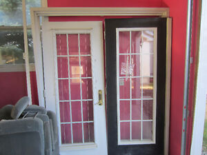 Patio Doors and frame