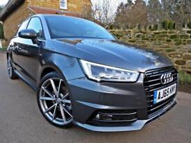 2016 AUDI A1 1.4 TFSI S-LINE SPORTBACK S TRONIC. FULLY LOADED !! AUDI WARRANTY