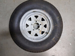 ST 175/80R123 trailer tire and wheel