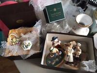 Job lot of ornaments and figures