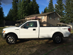 2010 Ford F-150 White Pickup Truck