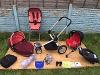 Quinny Buzz 3in1 Complete Travel System in Passion Pink *****