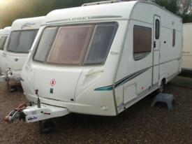 Abbey GTS Vogue 415 4 Berth Fixed Bed